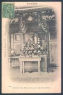 Viet Nam Indochine Tonkin Autel Des Ancetres - Viêt-Nam