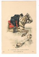 Uniforme.Ecole De Cavalerie De Saumur.  Illustrateur. P.K  (3) - Uniformen