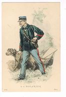 Uniforme. DOUANIER.  Illustrateur. P.K  (5) - Uniformen