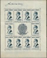 Brasil Brazil Brèsil 1938 Commémoration De La Nouvelle Constitution Getulio Vargas, 1 SS MNH Sans Gomme - Brésil
