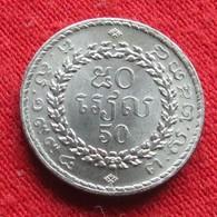 Cambodia  50 Riels 1994 Cambogia Camboya Cambodge Camboja UNCºº - Camboya