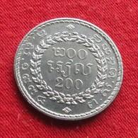 Cambodia  200 Riels 1994 Cambogia Camboya Cambodge Camboja UNCºº - Cambodge
