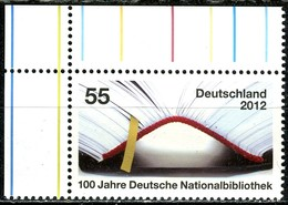 BRD - Mi 2956 ECKE LIO - ** Postfrisch (C) - 55C                  100 Jahre Deutsche Nationalbibliothek - Ungebraucht