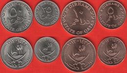 Qatar Set Of 4 Coins: 5 - 50 Dirhams 2012 UNC - Qatar