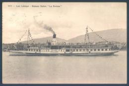 Ge Genève Lac Léman Bateau Salon LA SUISSE Boat - GE Geneva