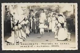 Brésil Brasil Carte Postale Photograpique Noël Baile Do Nascimento Pastoril Do SENAC Maceió Alagoas Christmas Postcard - Maceió