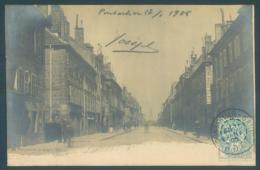 25 PONTARLIER Grande Rue Carte Photo - Pontarlier