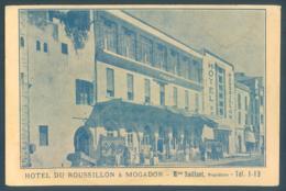 Maroc MOGADOR Hotel Du Roussillon - Maroc