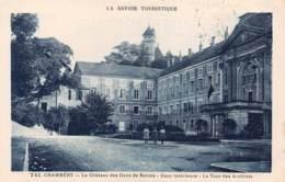 73 - CHAMBERY - Le Château Des Ducs De Savoie - Cour Intérieure - La Tour Des Archives - Chambery
