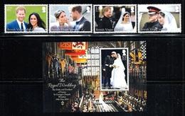 "Virgin Islands   ""Royal Wedding""    Set & Souvenir Sheet    New Issue   November-13-208   MNH - British Virgin Islands"