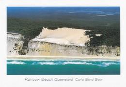 Postcard Rainbow Beach Queensland Carlo Cand Blow Cooloola National Park Australia My Ref  B23270 - Australia