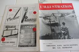 L'ILLUSTRATION 21 NOVEMBRE 1942-SUR LE NIGER DE GAO A MOPTI- GUERRE AFRIQUE DU NORD BEY DE TUNIS-A BORD DU GALLIENI- - L'Illustration