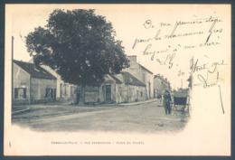 77 COMBS LA VILLE  Rue Sermonoise  Place Du Tilleul - Combs La Ville