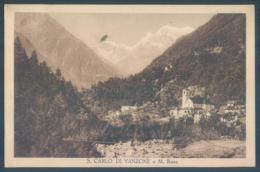 Piemonte S. CARLO Di VANZONE - Italia