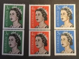 Australia -  MH* -  1966 - # 418/420 - Nuovi