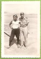 Ilha Do Sal - REAL PHOTO - Mulher E Militar - Woman - Femme - Ethnique - Ethnic - Cabo Verde - Cap Vert