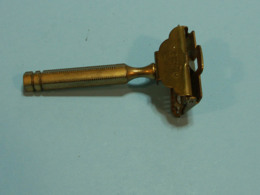 Rasoir Safety Razor - Mecanique, , Gem  Junior 1912, Brooklin New York, Manche Devissable - Accessoires