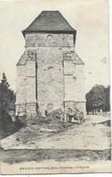 87- Neuvic-Entier 1909 - Cimetière De Charettes Devant L'église Et La Poule Qui Regarde - France
