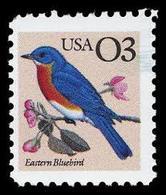 1991 USA Eastern Bluebird Stamp Bird  Sc#2478 Post - Post