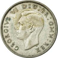 Monnaie, Grande-Bretagne, George VI, Florin, Two Shillings, 1944, TTB, Argent - 1902-1971 : Monnaies Post-Victoriennes