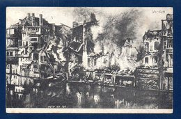 55. Verdun. Wie Es Ist.( Comme Elle Est).  Feldpostkarte. Feldpost Camouflé Février 1918. Feldlazarett 103 - Weltkrieg 1914-18