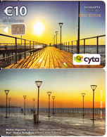 CYPRUS - Limassol Molos Promenade(0117CY, No Notch), Tirage %50000, 03/17, Used - Cyprus