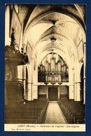 55. Ligny En Barrois. Intérieur De L'église, Les Orgues. Postes Militaires Belgique N°. 4.  Août 1917. - Guerre 1914-18