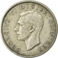 Monnaie, Grande-Bretagne, George VI, Florin, Two Shillings, 1951, TTB - 1902-1971 : Monnaies Post-Victoriennes