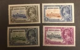 British Guiana - MH* - 1935 - # 223/226 - British Guiana (...-1966)