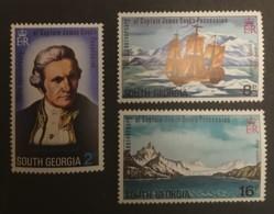 South Georgia  - MNH** - 1975 - # 41/43 - Géorgie Du Sud
