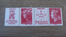 40e Anniversaire Du 1er Timbre-poste Imprimerie De Boulazac - 2 TIMBRES N° 4461 + 4462 - Année 2010 - Neufs** - Neufs