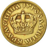Monnaie, Yougoslavie, Petar II, 2 Dinara, 1938, TTB, Aluminum-Bronze, KM:21 - Yougoslavie