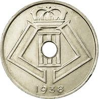 Monnaie, Belgique, 25 Centimes, 1938, TTB, Nickel-brass, KM:115.1 - 05. 25 Centimes