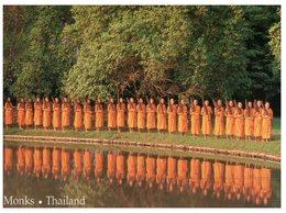 (999) Thailand - Monks - Bouddhisme