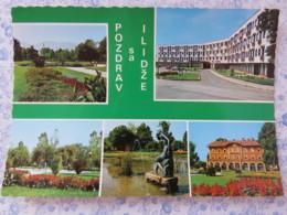 Bosnia Hercegovina - Unused Postcard - Ilidza - Multiview - Statue Park - Bosnie-Herzegovine