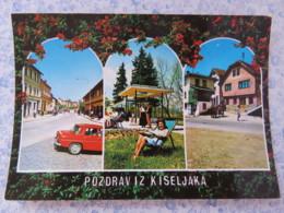 Bosnia Hercegovina - Unused Postcard - Kiseljak - Car Garden Houses Flowers - Bosnie-Herzegovine
