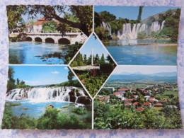 Bosnia Hercegovina - Unused Postcard - Ljubuski - Bridge Waterfall Panorama Monument - Bosnie-Herzegovine