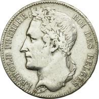 Monnaie, Belgique, Leopold I, 5 Francs, 5 Frank, 1849, TB+, Argent, KM:3.2 - 1831-1865: Léopoldo I