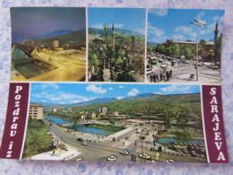 Bosnia Hercegovina - Unused Postcard - Sarajevo - River Bridges Mosque - Bosnie-Herzegovine