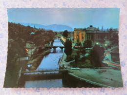 Bosnia Hercegovina - Unused Postcard - Sarajevo - River Bridges By Night - Bosnie-Herzegovine