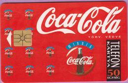 Télécarte Hongrie °° Coca-Cola Mindig-gem-50-1994-R - Hongrie