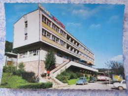 Bosnia Hercegovina - Unused Postcard - Sutjeska National Park - Hotel Sutjeska - Car VW Beetle - Bus - Bosnie-Herzegovine
