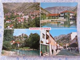 Bosnia Hercegovina - Unused Postcard - Stoca Stolac - Multiview - Bosnie-Herzegovine