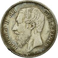 Monnaie, Belgique, Leopold II, Franc, 1866, TB+, Argent, KM:28.1 - 07. 1 Franc