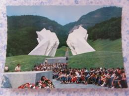 Bosnia Hercegovina - Unused Postcard - Sutjeska National Park - Monument To The Battle Of Sutjeska - Bosnie-Herzegovine