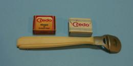 Rasoir Razor - CREDO Pedicure Callus Shaver Foot, Tough Hard Skin, Corn Remover, + 2 Box Of Blades, 5 In Sleeve + 2 Othe - Accessoires