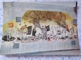 Bosnia Hercegovina - Unused Postcard - Sutjeska National Park - Painting Of The Battle Of Sutjeska - NAZI Flag - Bosnie-Herzegovine