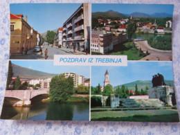 Bosnia Hercegovina - Unused Postcard - Trebinje - Multiview - Church Hotel Bridge - Bosnie-Herzegovine
