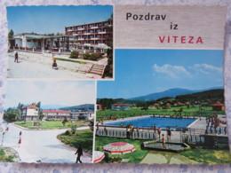 Bosnia Hercegovina - Unused Postcard - Vitez - Multiview - Hotel - Pool - Bosnie-Herzegovine