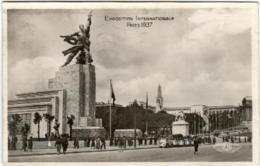 51dst 444 CPA -  PARIS 1937 - EXPOSITION INTERNATIONALE - Mostre
